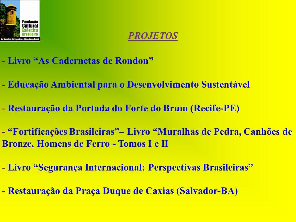 PROJETOS - Livro As Cadernetas de Rondon - Educação Ambiental para o Desenvolvimento Sustentável.