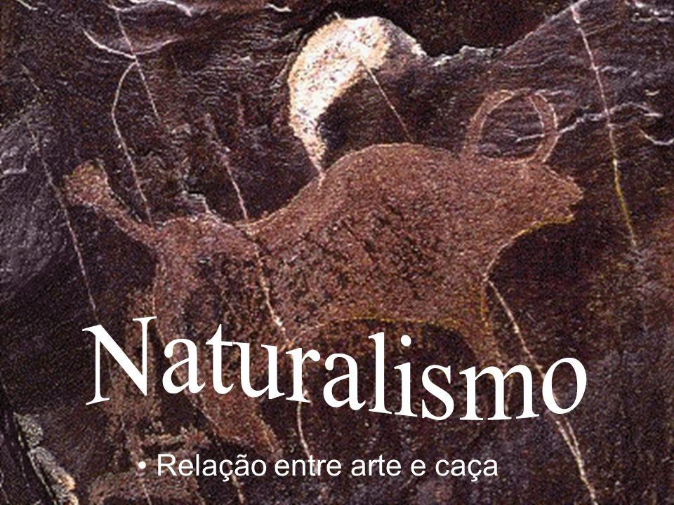 Naturalismo Relação entre arte e caça