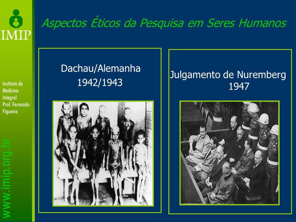 Aspectos Éticos da Pesquisa em Seres Humanos