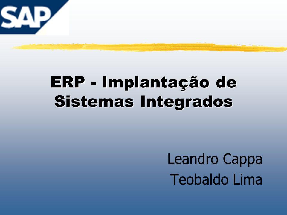 ERP - Implantação de Sistemas Integrados