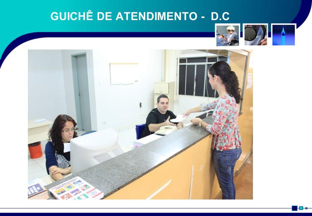GUICHÊ DE ATENDIMENTO - D.C