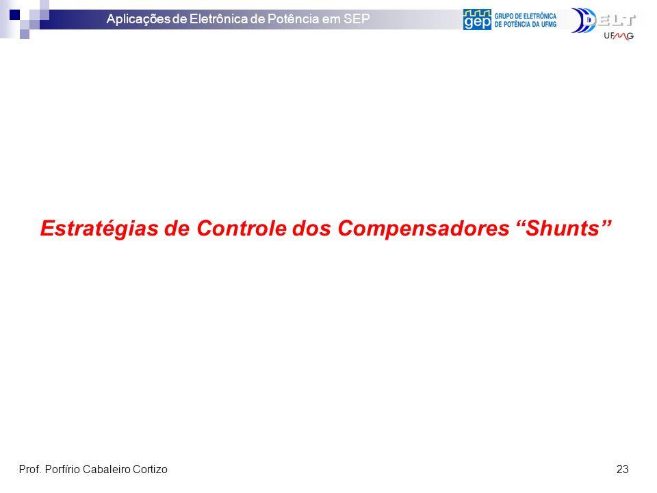 Estratégias de Controle dos Compensadores Shunts