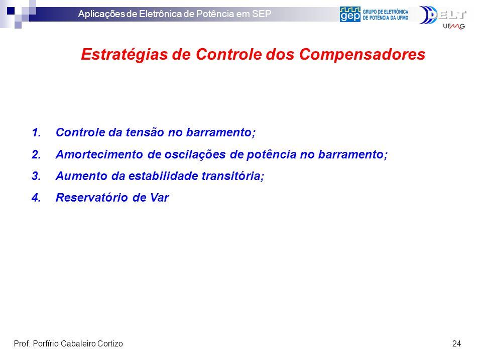 Estratégias de Controle dos Compensadores