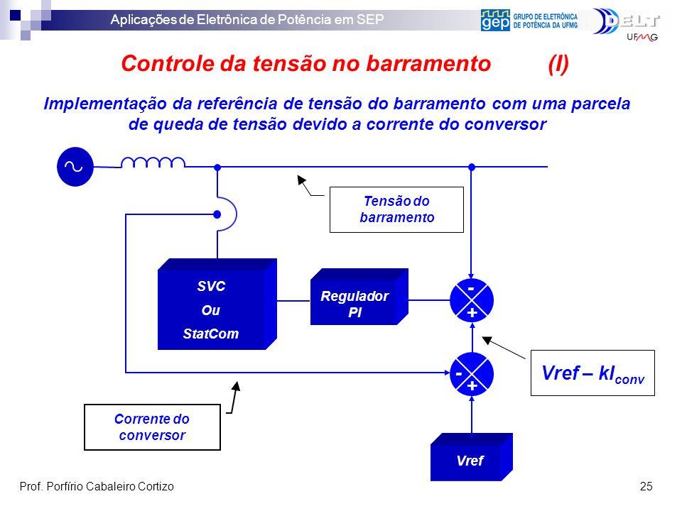 Controle da tensão no barramento (I)