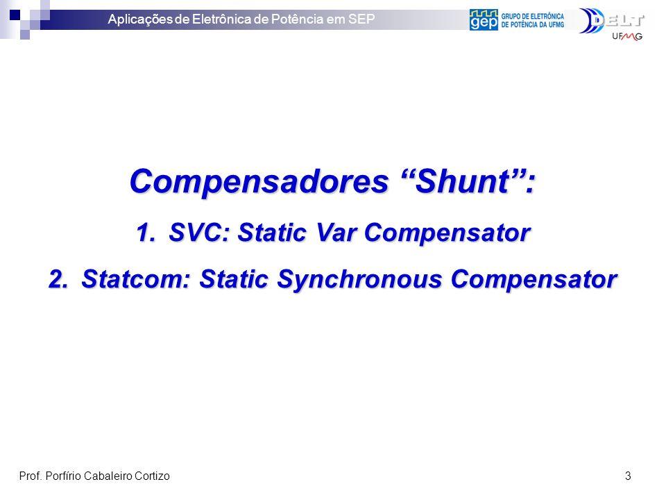 Compensadores Shunt :