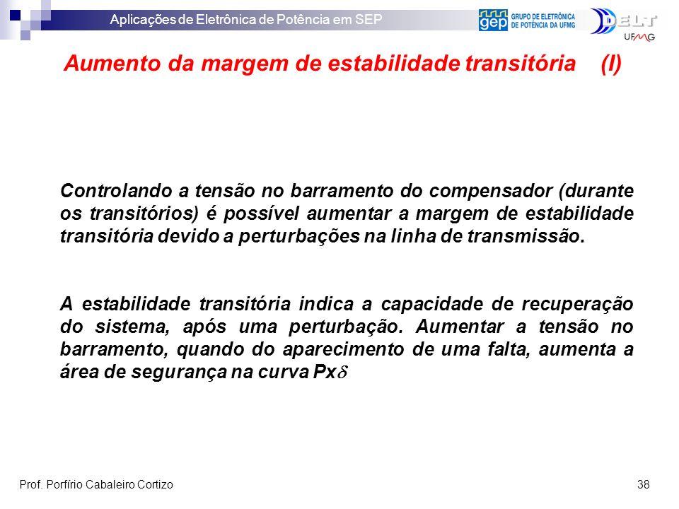 Aumento da margem de estabilidade transitória (I)