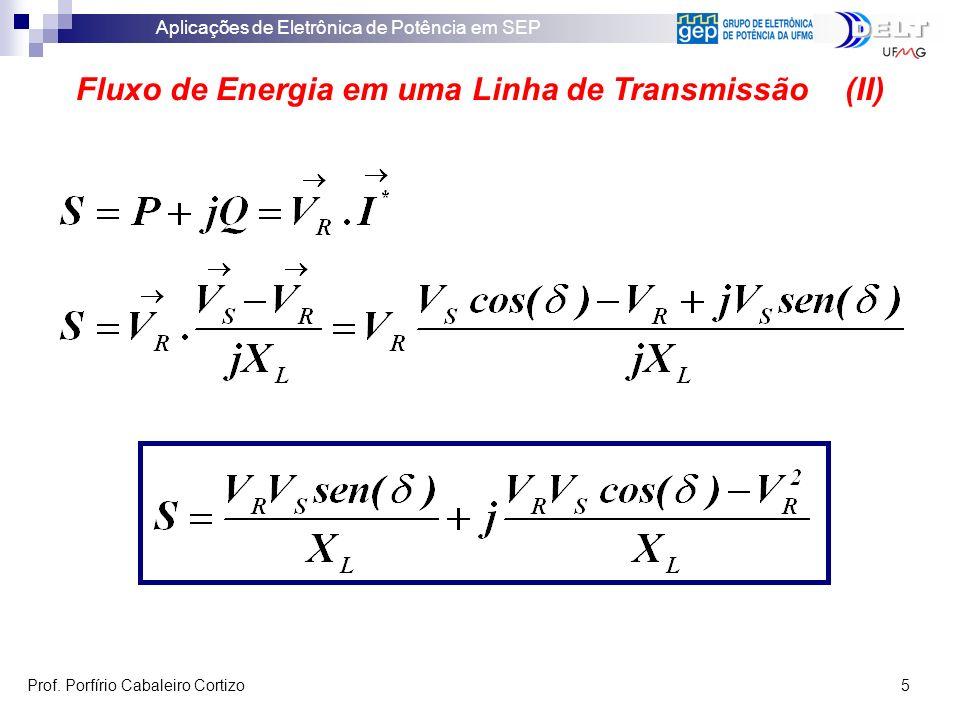 Fluxo de Energia em uma Linha de Transmissão (II)