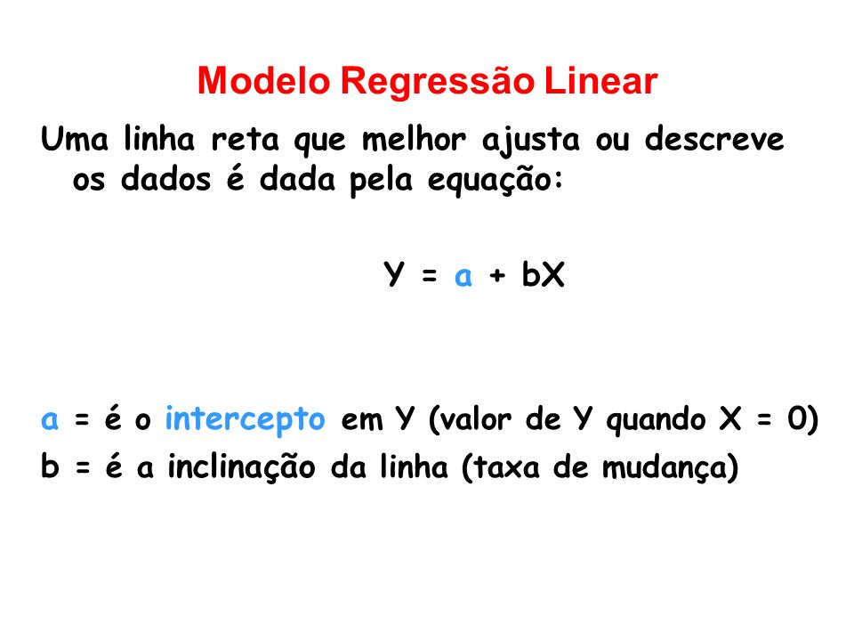 Modelo Regressão Linear