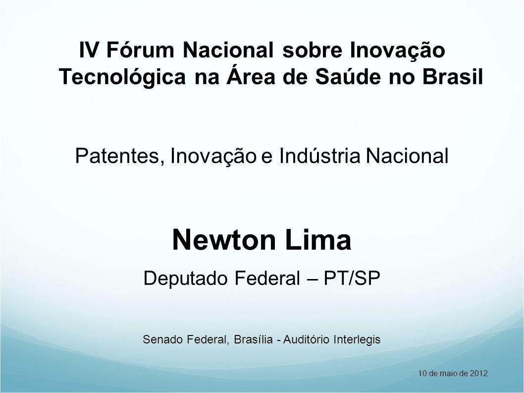 IV Fórum Nacional sobre Inovação Tecnológica na Área de Saúde no Brasil