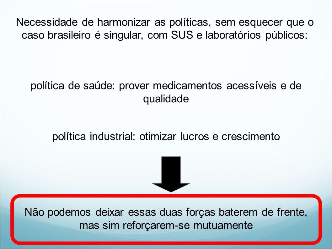política de saúde: prover medicamentos acessíveis e de qualidade