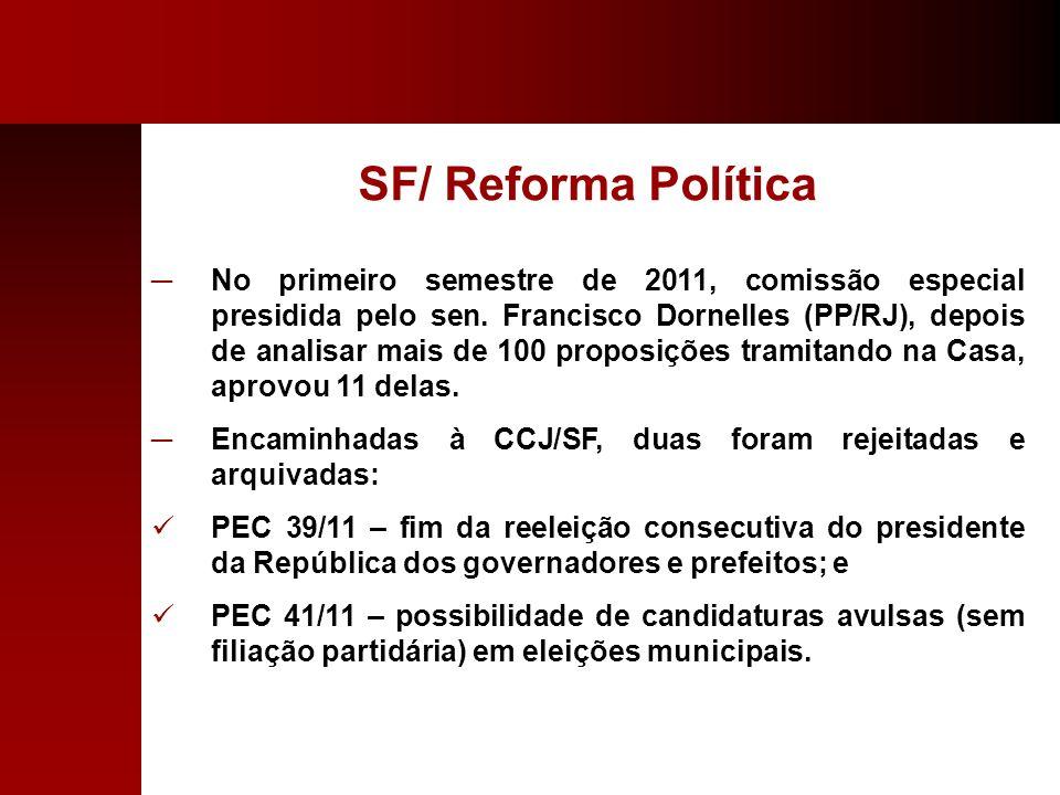 SF/ Reforma Política