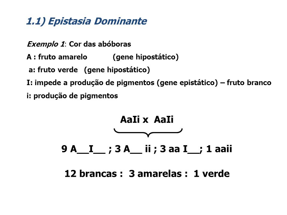 9 A__I__ ; 3 A__ ii ; 3 aa I__; 1 aaii