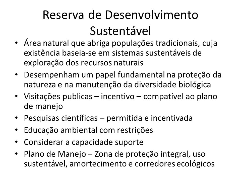 Reserva de Desenvolvimento Sustentável