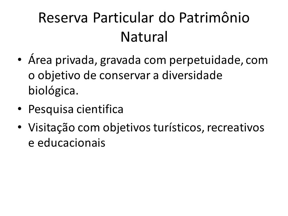 Reserva Particular do Patrimônio Natural