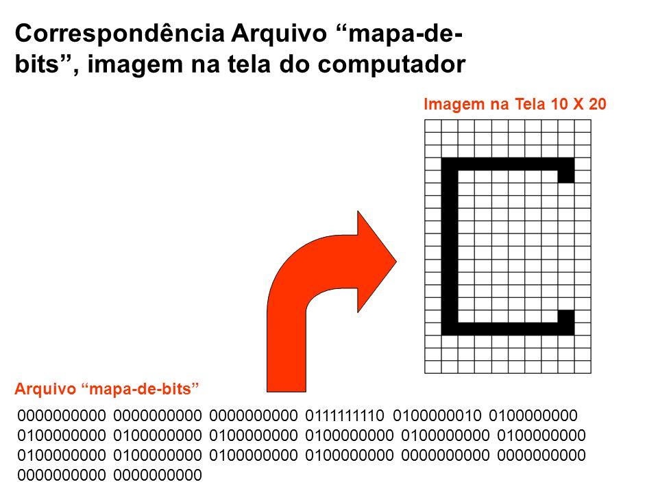 Correspondência Arquivo mapa-de-bits , imagem na tela do computador