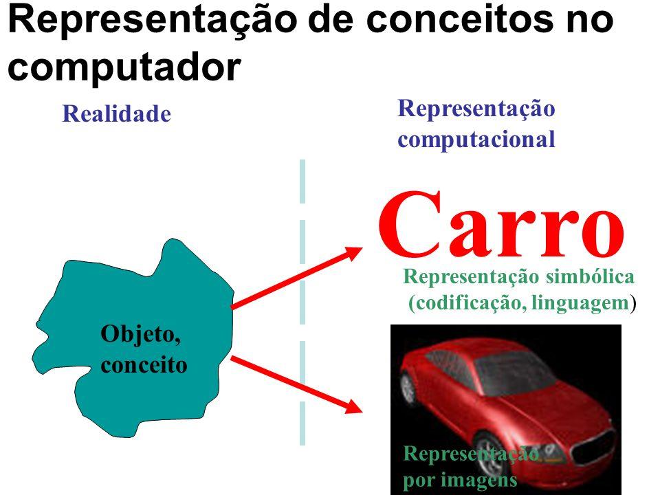 Representação de conceitos no computador