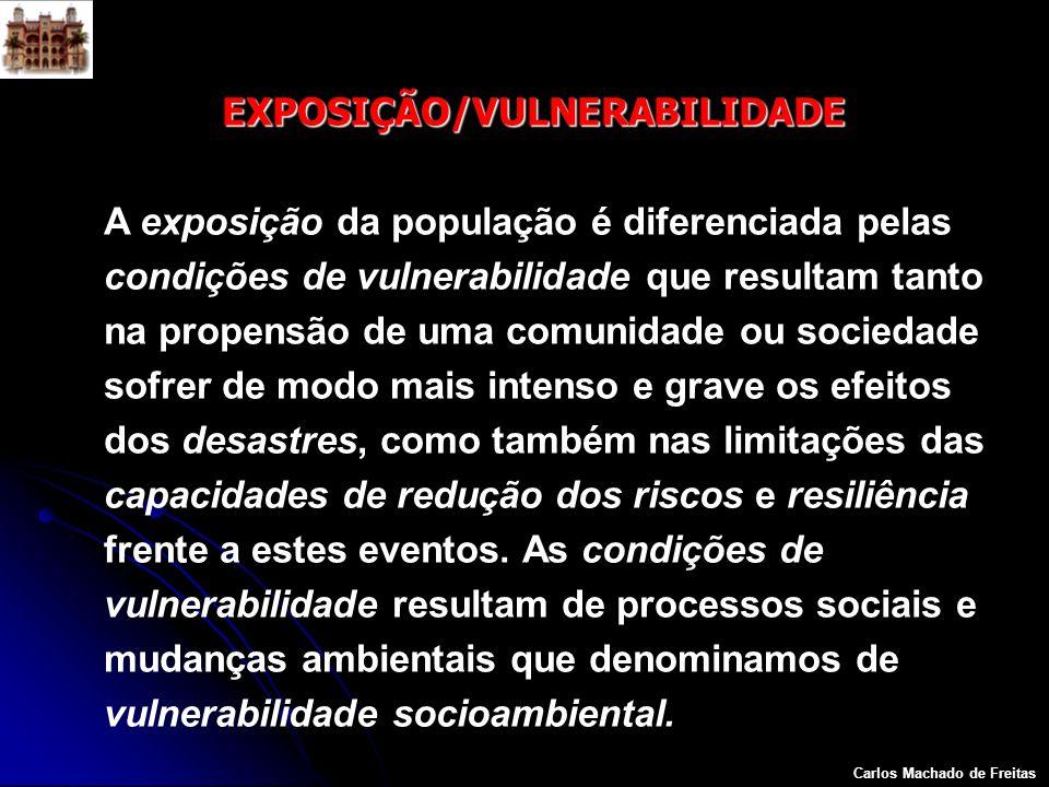 EXPOSIÇÃO/VULNERABILIDADE