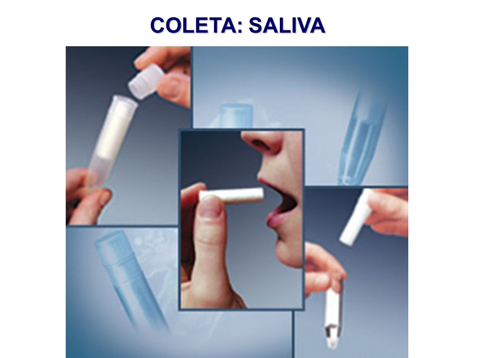 COLETA: SALIVA