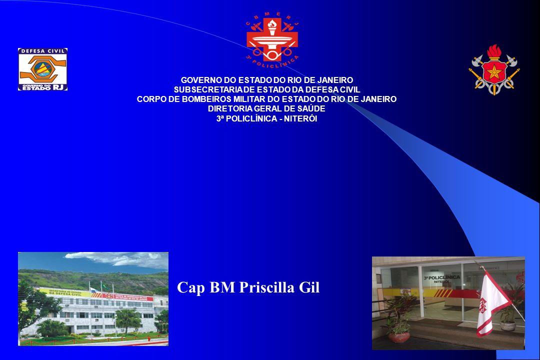 Cap BM Priscilla Gil GOVERNO DO ESTADO DO RIO DE JANEIRO