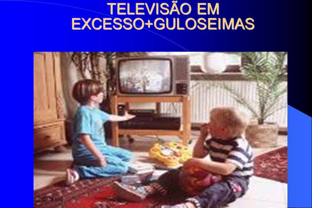 TELEVISÃO EM EXCESSO+GULOSEIMAS