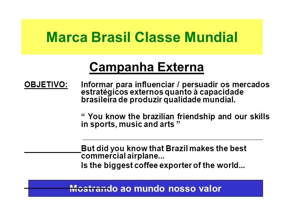 Marca Brasil Classe Mundial
