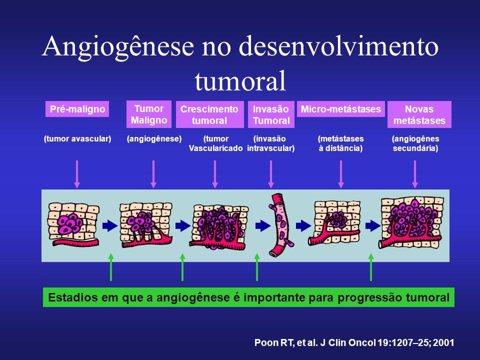 Angiogênese no desenvolvimento tumoral