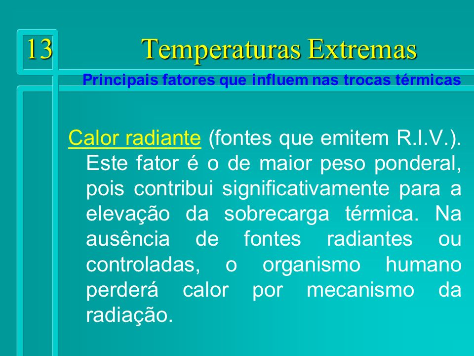 13 Temperaturas Extremas