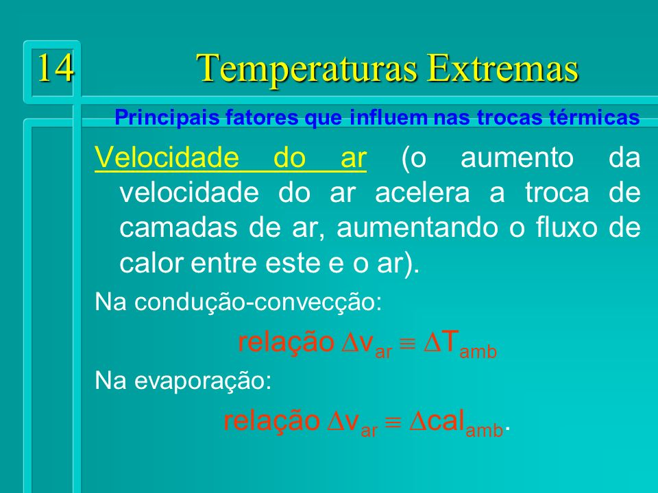 14 Temperaturas Extremas