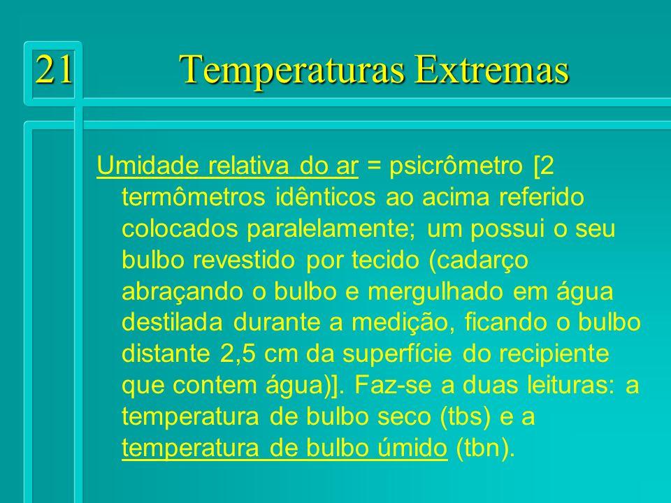 21 Temperaturas Extremas