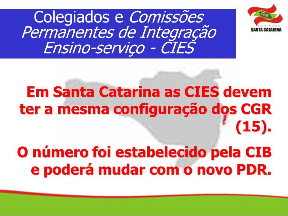 Colegiados e Comissões Permanentes de Integração Ensino-serviço - CIES