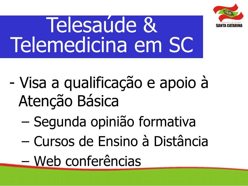 Telesaúde & Telemedicina em SC