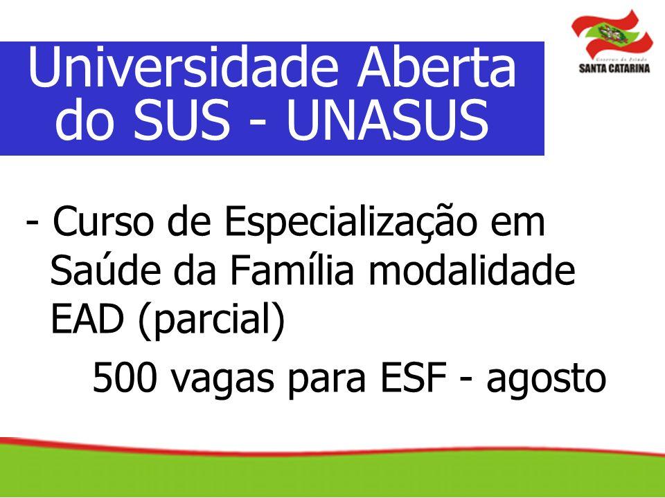 Universidade Aberta do SUS - UNASUS