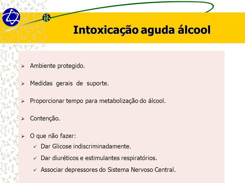 Intoxicação aguda álcool