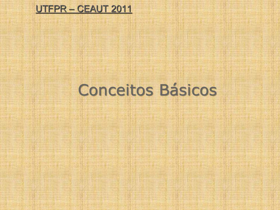 UTFPR – CEAUT 2011 Conceitos Básicos