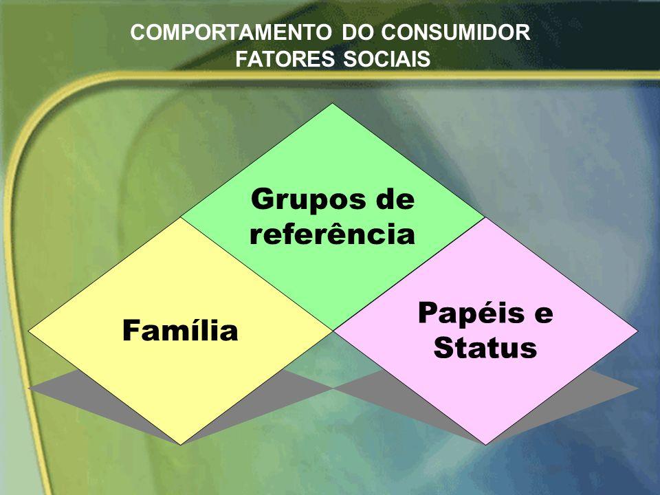 COMPORTAMENTO DO CONSUMIDOR FATORES SOCIAIS