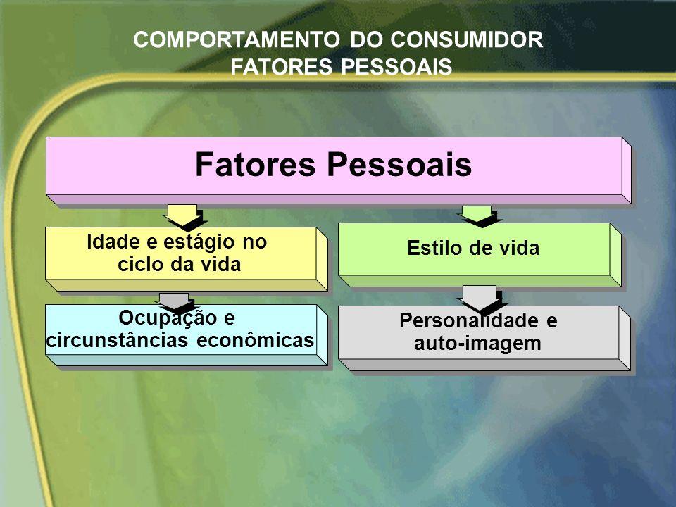 COMPORTAMENTO DO CONSUMIDOR FATORES PESSOAIS