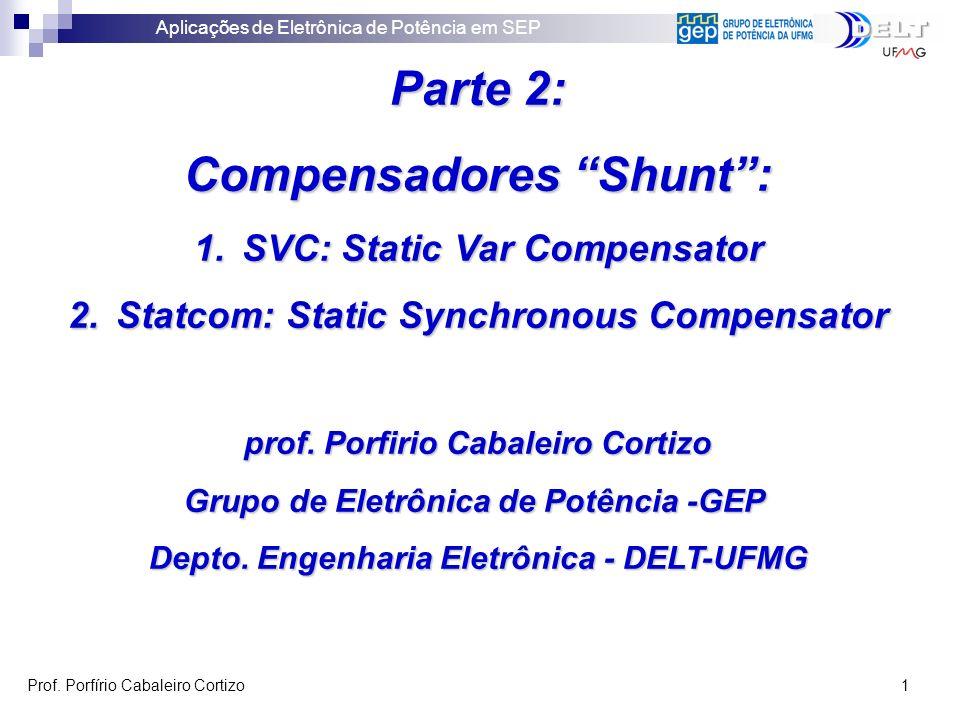 Parte 2: Compensadores Shunt :
