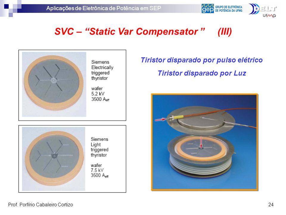 SVC – Static Var Compensator (III)