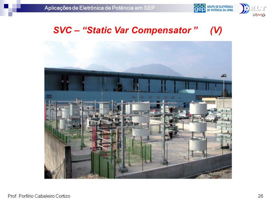 SVC – Static Var Compensator (V)