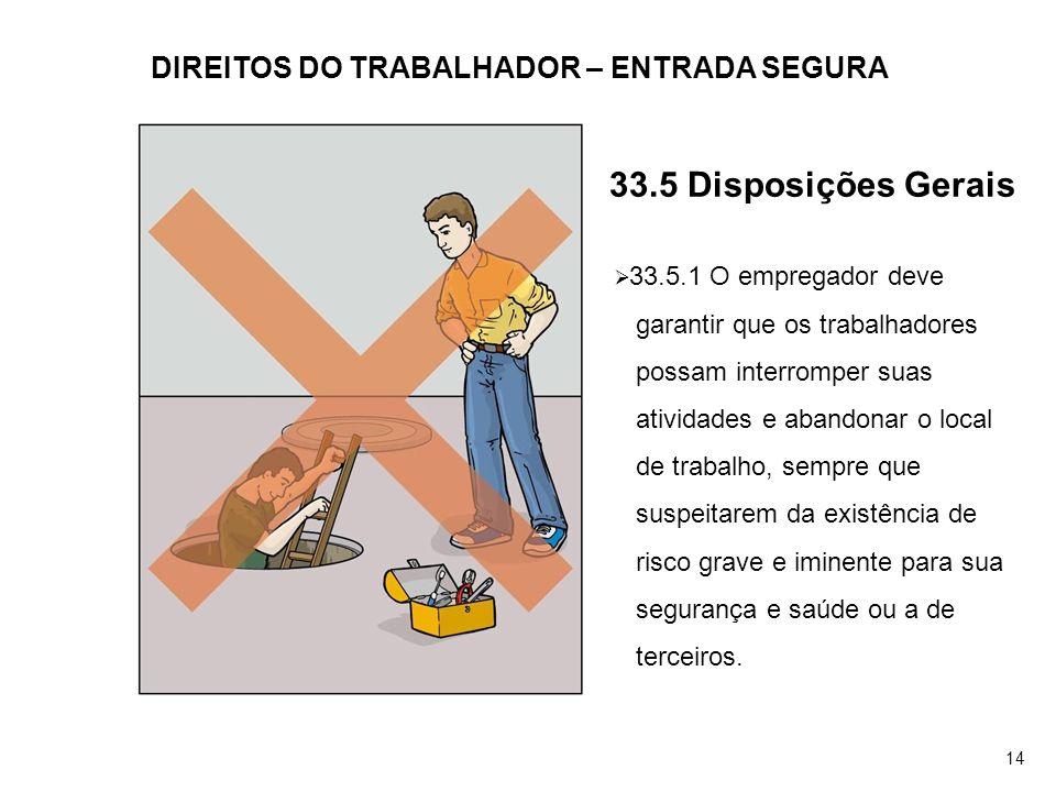 DIREITOS DO TRABALHADOR – ENTRADA SEGURA