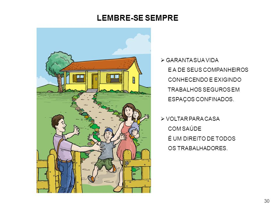 LEMBRE-SE SEMPRE GARANTA SUA VIDA E A DE SEUS COMPANHEIROS