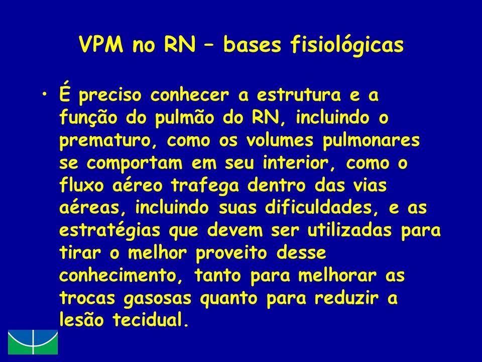 VPM no RN – bases fisiológicas