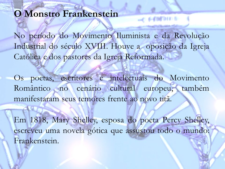 O Monstro Frankenstein