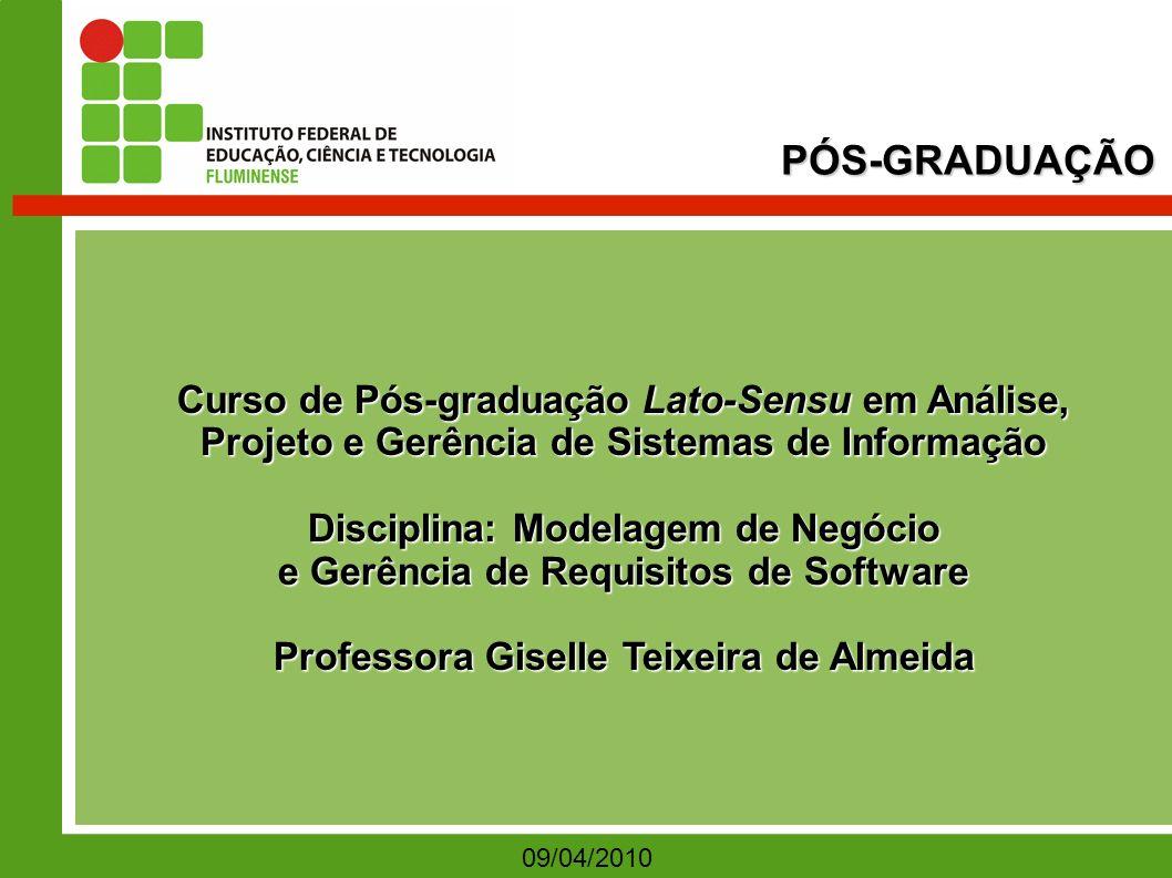 PÓS-GRADUAÇÃO Curso de Pós-graduação Lato-Sensu em Análise,