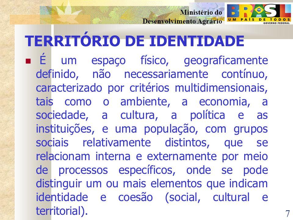 TERRITÓRIO DE IDENTIDADE