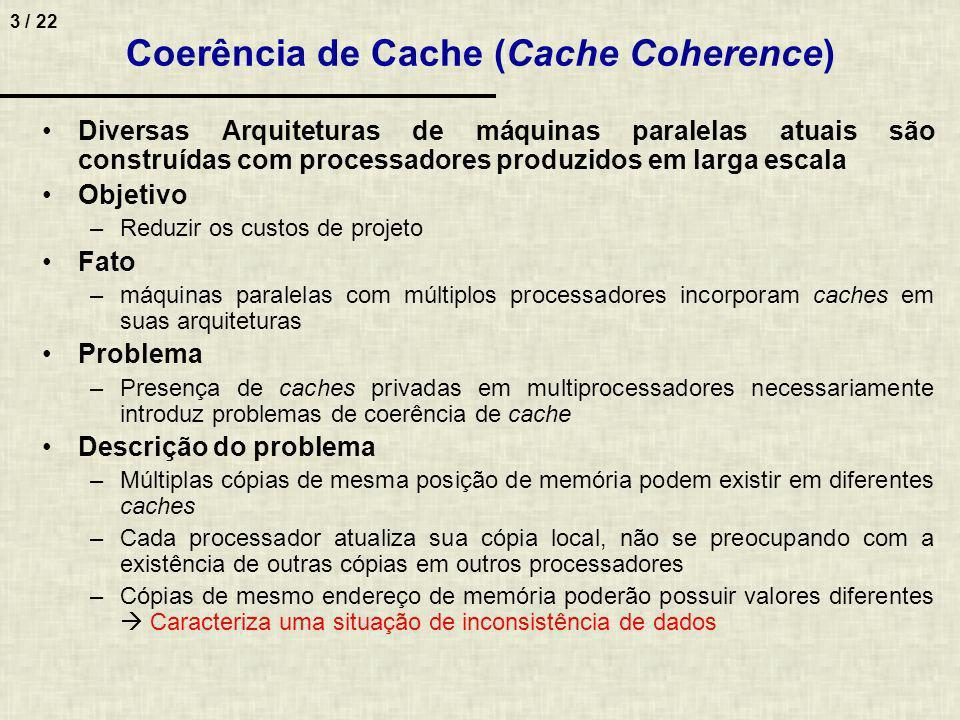 Coerência de Cache (Cache Coherence)