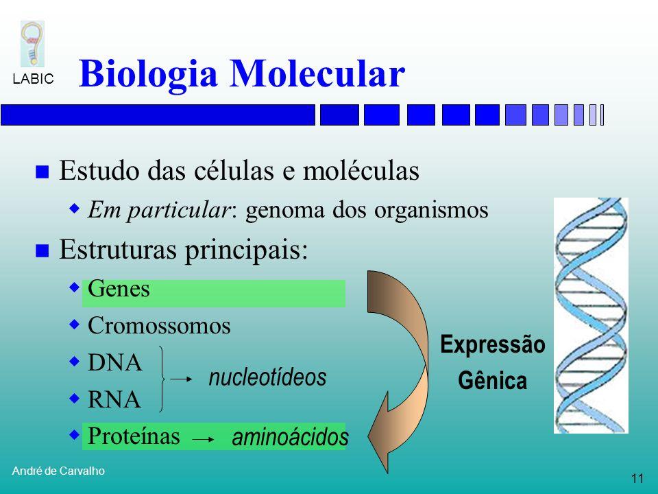 Biologia Molecular Estudo das células e moléculas