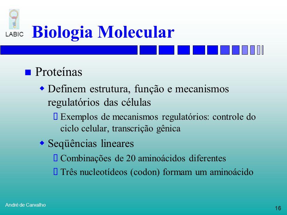 Biologia Molecular Proteínas