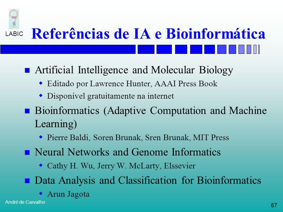 Referências de IA e Bioinformática