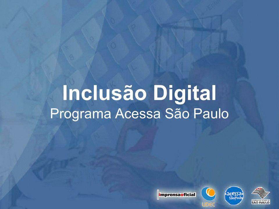 Inclusão Digital Programa Acessa São Paulo